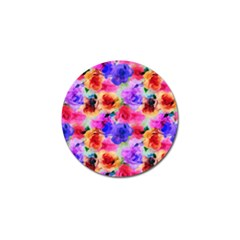 Floral Pattern Background Seamless Golf Ball Marker by BangZart