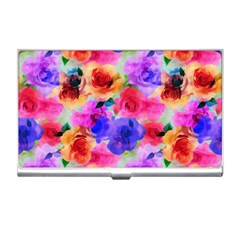 Floral Pattern Background Seamless Business Card Holders by BangZart