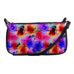 Floral Pattern Background Seamless Shoulder Clutch Bags by BangZart