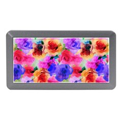 Floral Pattern Background Seamless Memory Card Reader (mini) by BangZart