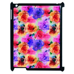 Floral Pattern Background Seamless Apple Ipad 2 Case (black) by BangZart