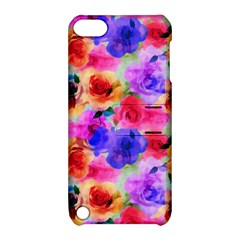 Floral Pattern Background Seamless Apple Ipod Touch 5 Hardshell Case With Stand by BangZart