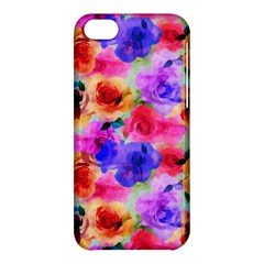 Floral Pattern Background Seamless Apple Iphone 5c Hardshell Case by BangZart