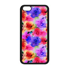 Floral Pattern Background Seamless Apple Iphone 5c Seamless Case (black) by BangZart