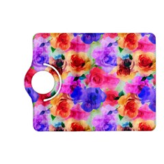 Floral Pattern Background Seamless Kindle Fire Hd (2013) Flip 360 Case by BangZart