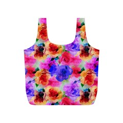 Floral Pattern Background Seamless Full Print Recycle Bags (s)  by BangZart