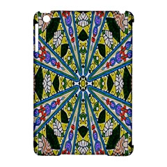 Kaleidoscope Background Apple Ipad Mini Hardshell Case (compatible With Smart Cover) by BangZart