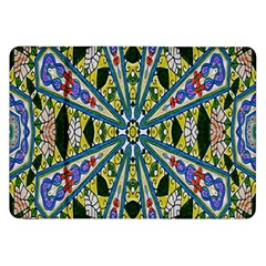 Kaleidoscope Background Samsung Galaxy Tab 8 9  P7300 Flip Case by BangZart