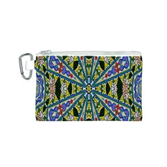 Kaleidoscope Background Canvas Cosmetic Bag (s) by BangZart