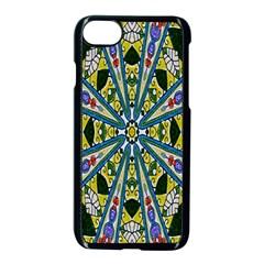 Kaleidoscope Background Apple iPhone 7 Seamless Case (Black)