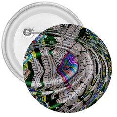 Water Ripple Design Background Wallpaper Of Water Ripples Applied To A Kaleidoscope Pattern 3  Buttons by BangZart