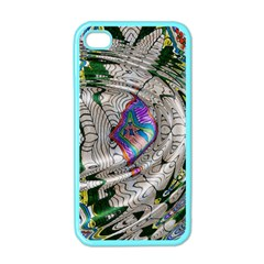 Water Ripple Design Background Wallpaper Of Water Ripples Applied To A Kaleidoscope Pattern Apple Iphone 4 Case (color) by BangZart
