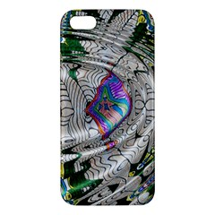 Water Ripple Design Background Wallpaper Of Water Ripples Applied To A Kaleidoscope Pattern Iphone 5s/ Se Premium Hardshell Case by BangZart