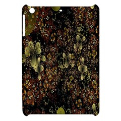 Wallpaper With Fractal Small Flowers Apple Ipad Mini Hardshell Case by BangZart