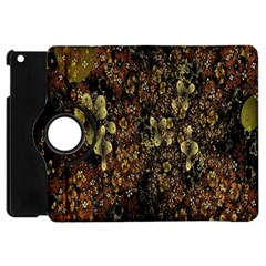 Wallpaper With Fractal Small Flowers Apple Ipad Mini Flip 360 Case by BangZart