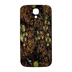 Wallpaper With Fractal Small Flowers Samsung Galaxy S4 I9500/i9505  Hardshell Back Case by BangZart