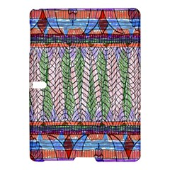 Nature Pattern Background Wallpaper Of Leaves And Flowers Abstract Style Samsung Galaxy Tab S (10 5 ) Hardshell Case  by BangZart