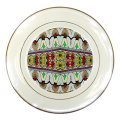 Kaleidoscope Background  Wallpaper Porcelain Plates by BangZart