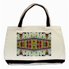 Kaleidoscope Background  Wallpaper Basic Tote Bag by BangZart