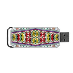 Kaleidoscope Background  Wallpaper Portable Usb Flash (two Sides) by BangZart