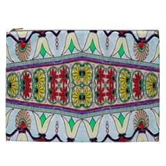 Kaleidoscope Background  Wallpaper Cosmetic Bag (xxl)  by BangZart
