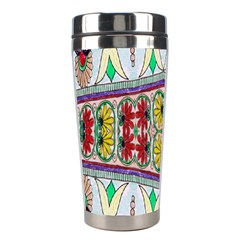 Kaleidoscope Background  Wallpaper Stainless Steel Travel Tumblers by BangZart