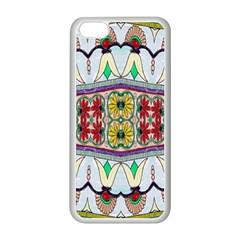 Kaleidoscope Background  Wallpaper Apple Iphone 5c Seamless Case (white) by BangZart