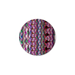 Textured Design Background Pink Wallpaper Of Textured Pattern In Pink Hues Golf Ball Marker (10 Pack) by BangZart