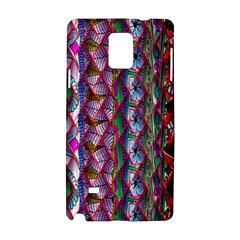 Textured Design Background Pink Wallpaper Of Textured Pattern In Pink Hues Samsung Galaxy Note 4 Hardshell Case by BangZart