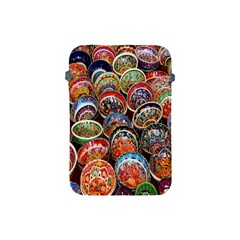 Colorful Oriental Bowls On Local Market In Turkey Apple Ipad Mini Protective Soft Cases by BangZart