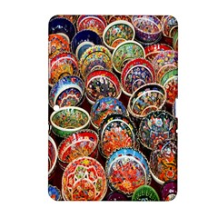 Colorful Oriental Bowls On Local Market In Turkey Samsung Galaxy Tab 2 (10 1 ) P5100 Hardshell Case  by BangZart