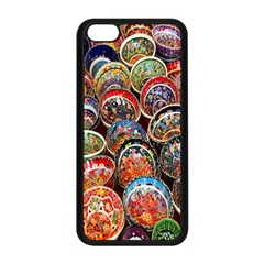 Colorful Oriental Bowls On Local Market In Turkey Apple Iphone 5c Seamless Case (black) by BangZart