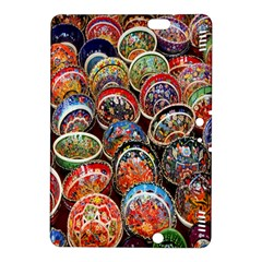 Colorful Oriental Bowls On Local Market In Turkey Kindle Fire Hdx 8 9  Hardshell Case by BangZart