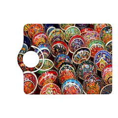 Colorful Oriental Bowls On Local Market In Turkey Kindle Fire Hd (2013) Flip 360 Case by BangZart