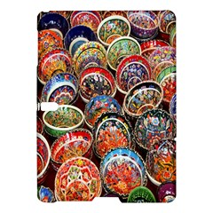 Colorful Oriental Bowls On Local Market In Turkey Samsung Galaxy Tab S (10 5 ) Hardshell Case  by BangZart
