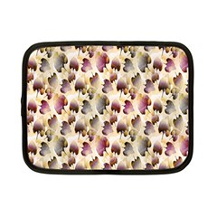 Random Leaves Pattern Background Netbook Case (small)  by BangZart