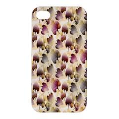 Random Leaves Pattern Background Apple Iphone 4/4s Hardshell Case by BangZart