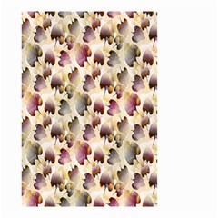 Random Leaves Pattern Background Small Garden Flag (two Sides) by BangZart