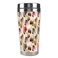 Random Leaves Pattern Background Stainless Steel Travel Tumblers by BangZart