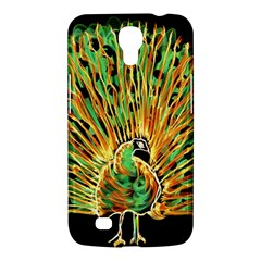 Unusual Peacock Drawn With Flame Lines Samsung Galaxy Mega 6 3  I9200 Hardshell Case by BangZart