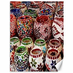 Colorful Oriental Candle Holders For Sale On Local Market Canvas 36  X 48   by BangZart