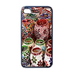 Colorful Oriental Candle Holders For Sale On Local Market Apple Iphone 4 Case (black) by BangZart