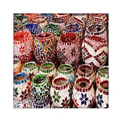 Colorful Oriental Candle Holders For Sale On Local Market Acrylic Tangram Puzzle (6  X 6 ) by BangZart