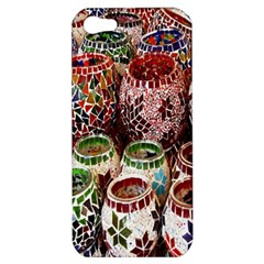 Colorful Oriental Candle Holders For Sale On Local Market Apple Iphone 5 Hardshell Case by BangZart