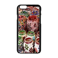 Colorful Oriental Candle Holders For Sale On Local Market Apple Iphone 6/6s Black Enamel Case