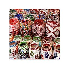 Colorful Oriental Candle Holders For Sale On Local Market Small Satin Scarf (square) by BangZart