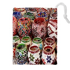 Colorful Oriental Candle Holders For Sale On Local Market Drawstring Pouches (xxl) by BangZart