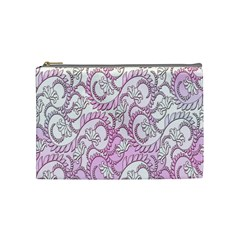 Floral Pattern Background Cosmetic Bag (medium)  by BangZart