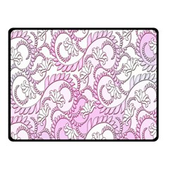 Floral Pattern Background Fleece Blanket (small) by BangZart