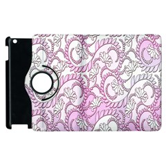 Floral Pattern Background Apple Ipad 3/4 Flip 360 Case by BangZart